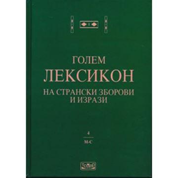 Слика на Голем лексикон на странски зборови и изрази 4 (М-С)