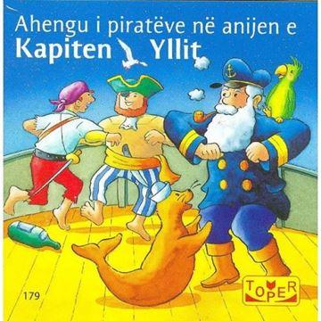 Слика на Ahengu i piratëve në anijen e Kapiten Yllit