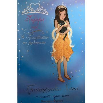 Слика на Принцезата Хана и малото црно маче /книга бр.19
